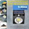 16 COB соларна лампа с датчик за движение 2