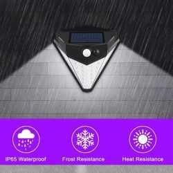 38 LED соларна лампа с 3 режима на действие и сензор за движение 6