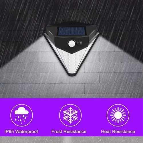 38 LED соларна лампа с 3 режима на действие и сензор за движение 4