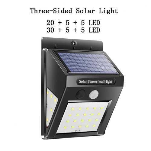 40 LED соларна лампа със сензор за движение на едро 3