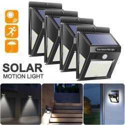 40 LED соларна лампа със сензор за движение на едро 9