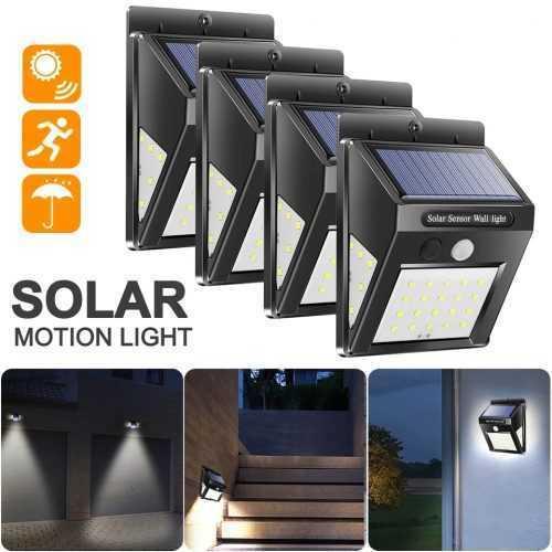 40 LED соларна лампа със сензор за движение на едро 6