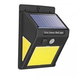 60 лед Соларна Лампа с Датчик за Движение 21