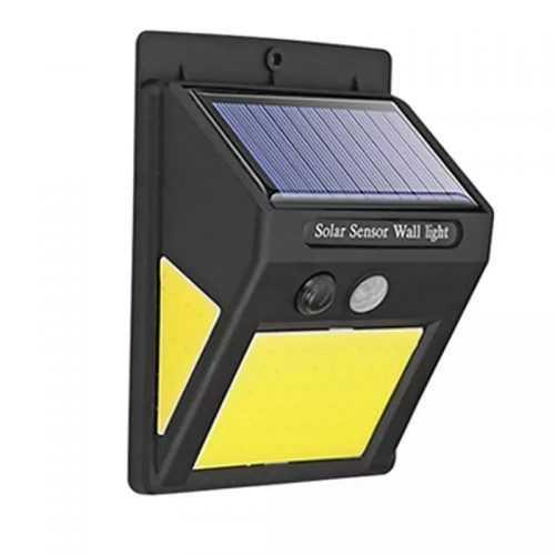 60 лед Соларна Лампа с Датчик за Движение 6