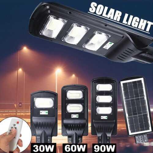 Соларна улична лампа 30/60/90/120 вата 2