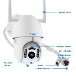 Камера за външен монтаж с две антени на едро и дребно 10