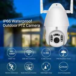 Камера за външен монтаж с две антени на едро и дребно 8