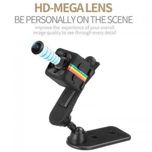 Шпионска мини камера SQ11 на едро и дребно 2