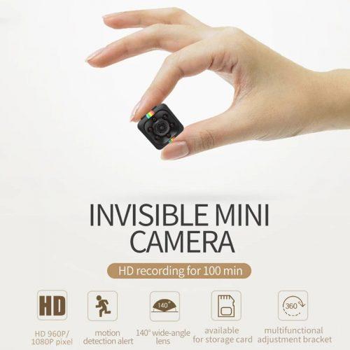 Шпионска мини камера SQ11 на едро и дребно 5