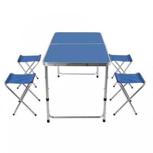 Сгъваема маса със столчета на едро 2