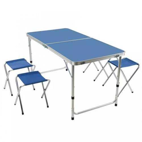 Сгъваема маса със столчета на едро 3
