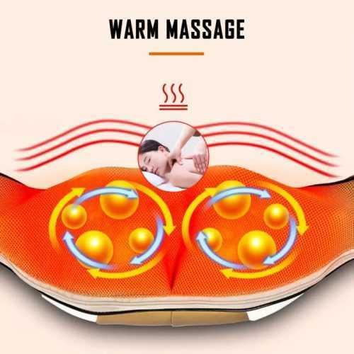 3D Шиацу масажор на едро и дребно 4