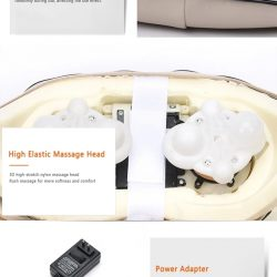 3D Шиацу масажор на едро и дребно 10