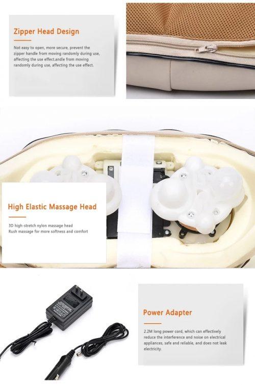 3D Шиацу масажор на едро и дребно 5
