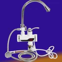 Смесител за плот с душ турмалин на едро 4