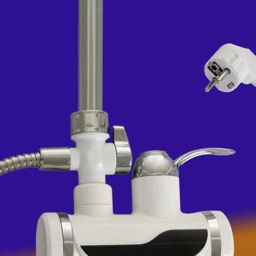 Смесител за плот с душ турмалин на едро 3