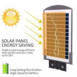 Соларна улична лампа 20 вата на едро и дребно 4