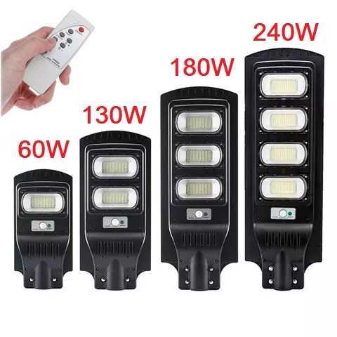 Соларна улична лампа 60/130/180/240 вата 1