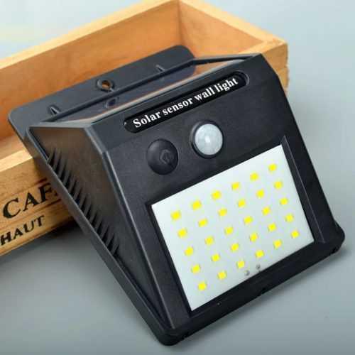 Водоустойчива соларна лампа 25 лед диода 4
