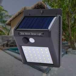Водоустойчива соларна лампа 30 лед диода на едро 10