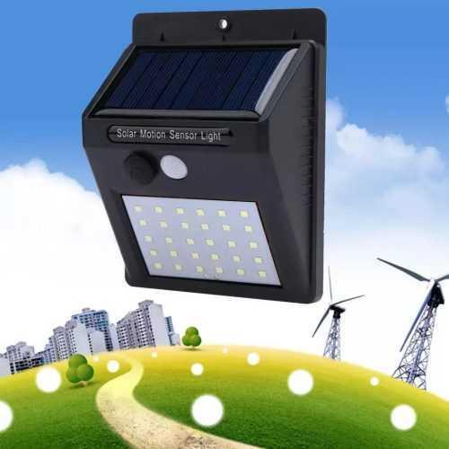 Водоустойчива соларна лампа 30 лед диода на едро 6