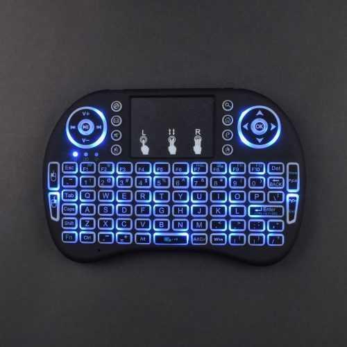 Универсална Безжична Мини Клавиатура за TV на едро 6