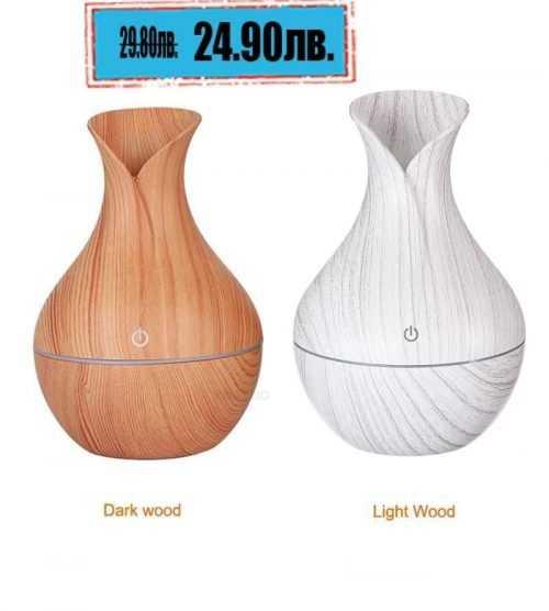 LED ултразвуков дифузер/овлажнител с ароматерапия за въздух 3