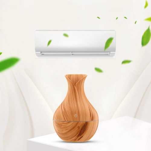 LED ултразвуков дифузер/овлажнител с ароматерапия за въздух 7