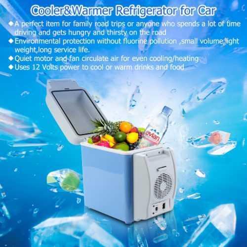 Хладилна чанта 7.5л/12V на едро 8