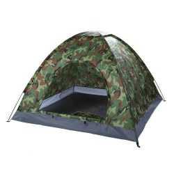 Камуфлажна четириместна палатка на едро 12