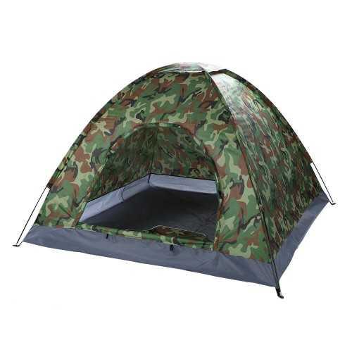 Камуфлажна четириместна палатка на едро 5