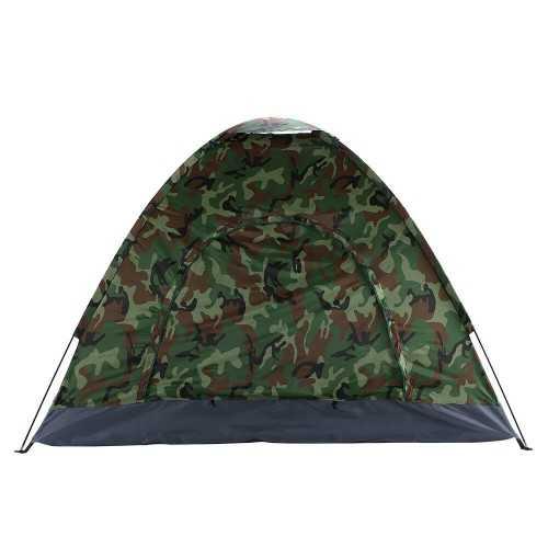 Камуфлажна четириместна палатка на едро 6