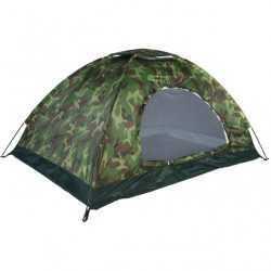 Камуфлажна четириместна палатка на едро 15