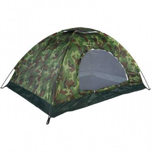 Камуфлажна четириместна палатка на едро 8