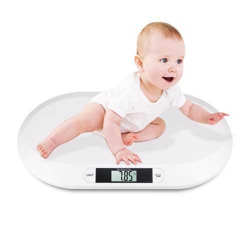 Кантар за бебе на едро 3