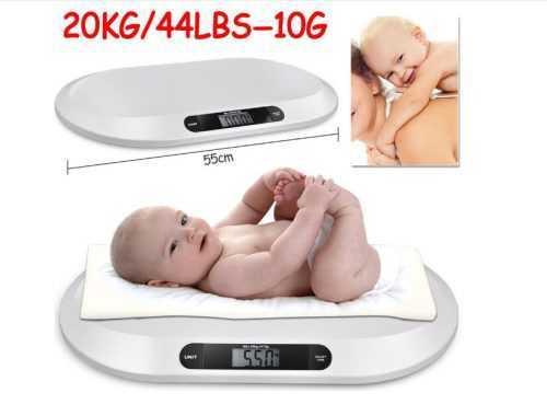 Кантар за бебе на едро 4