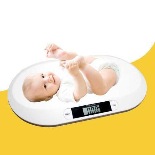 Кантар за бебе на едро 5