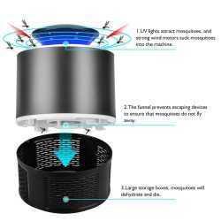 Лампа/Капан против комари мухи насекоми 12