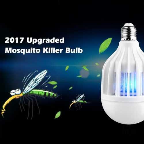 LED Крушка С Вграден UV Унищожител за Комари на едро 4