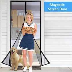 Магнитна мрежа MAGIC MESH против мухи и комари на едро 7