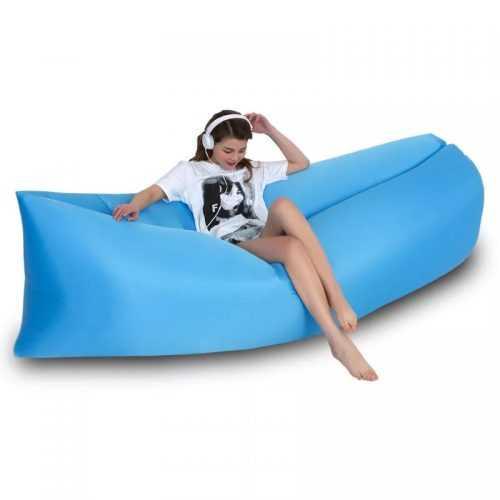 Надуваемо легло Bubble Bed на едро 4