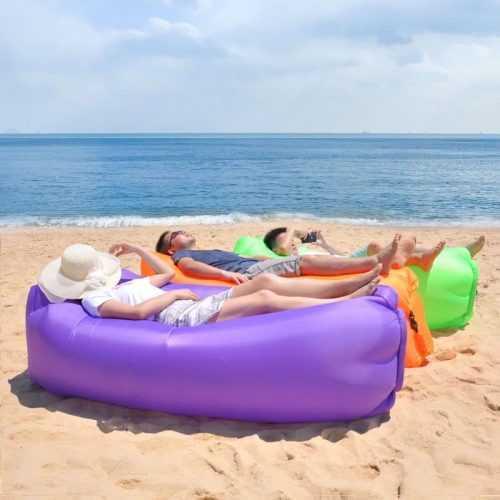 Надуваемо легло Bubble Bed на едро 5
