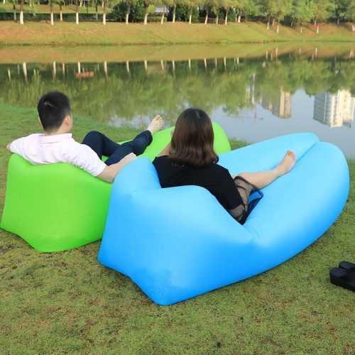 Надуваемо легло Bubble Bed на едро 6