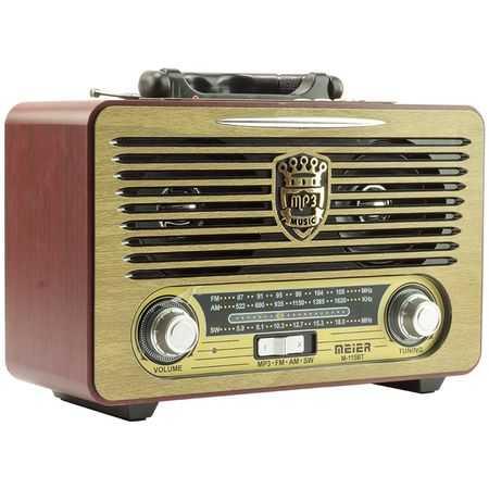Ретро радио Meier 115BT на едро 3