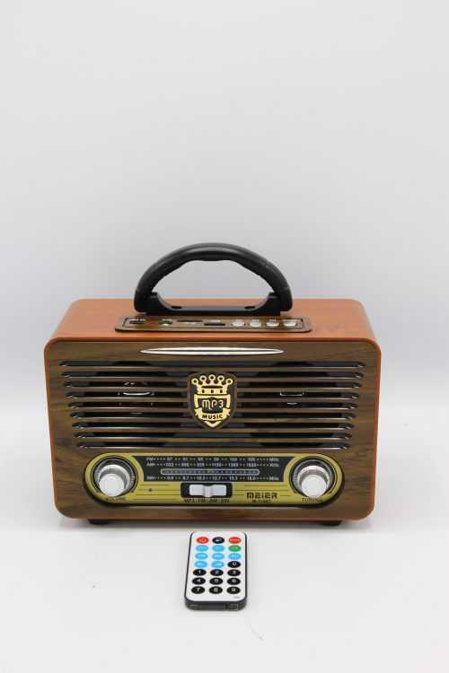 Ретро радио Meier 115BT на едро 5