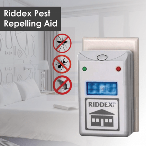 RIDDEX Ултразвуково устройство за борба с вредители 3