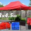 3х4.5 метра Градинска шатра тип Хармоника 2