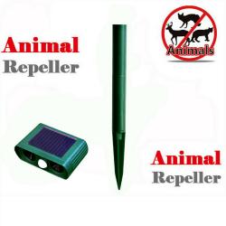 Ултразвуков соларен уред против всякакви животни 13