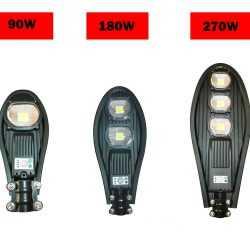 Улична Соларнa LED лампа Cobra 90/180/270w на едро 16
