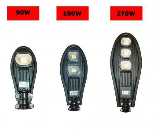 Улична Соларнa LED лампа Cobra 90/180/270w на едро 7